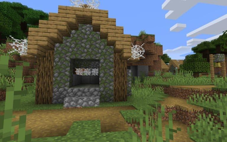 Meilleur Seed Minecraft 1.14 : Village détruit par des zombies, toiles