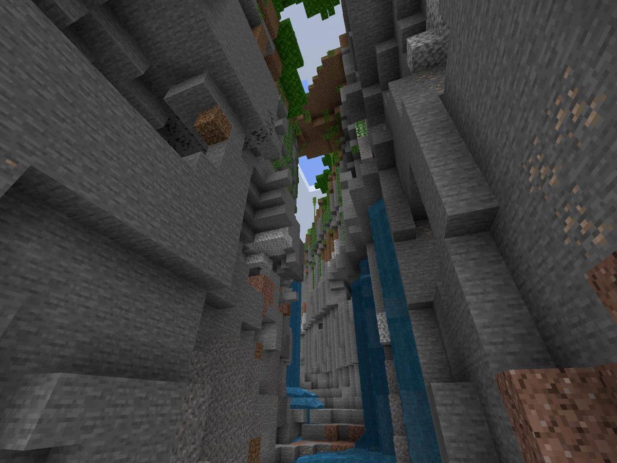 Seed et Graines pour Minecraft Bedrock 1.12 : Forêt de bambous ravin