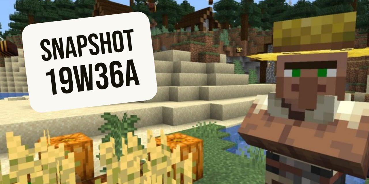Minecraft 1.15 : Snapshot 19w36a – Modding et Bugs