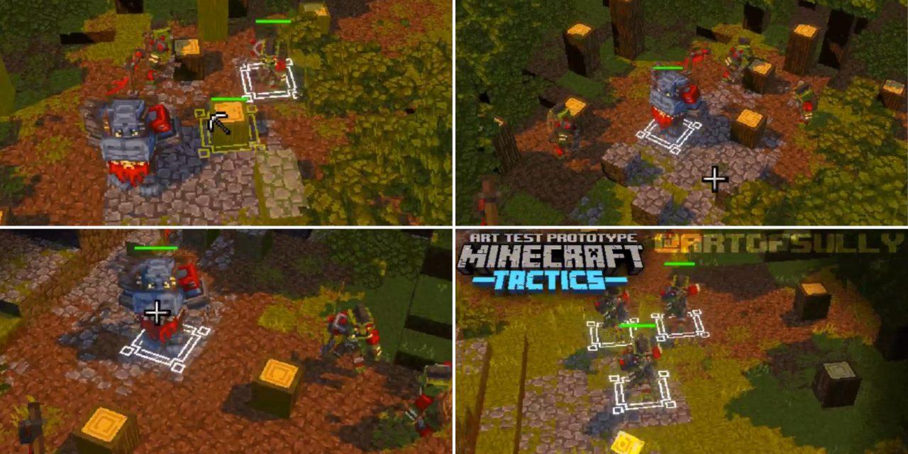 Un jeu de stratégie en temps réel Minecraft