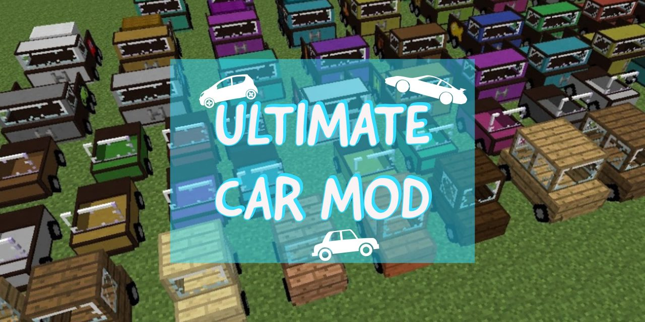 [Mod] The Ultimate Car Mod – 1.10.2 → 1.15.2