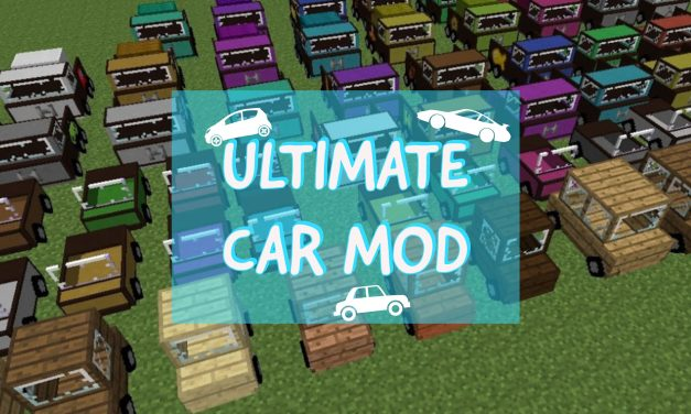 The Ultimate Car Mod – 1.10.2 → 1.15.2 / 1.16.5