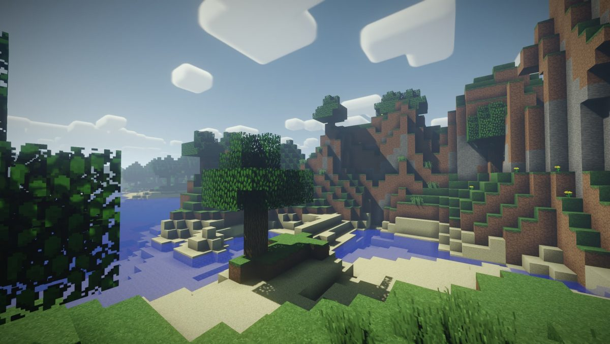 Nostalgia Shader Minecraft : Colline