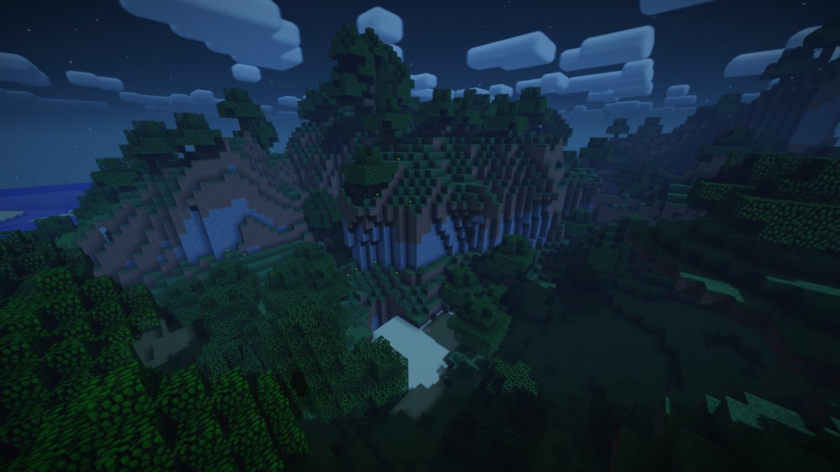 Nostalgia Shader Minecraft : Nuit