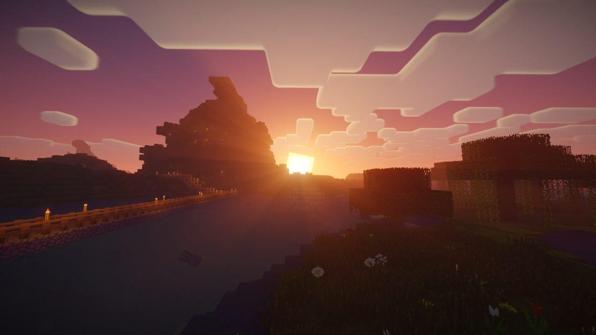Nostalgia Shader Minecraft : Soleil