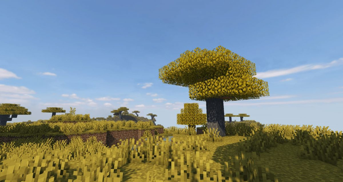 projectLUMA Shader : Un arbre dans une plaine