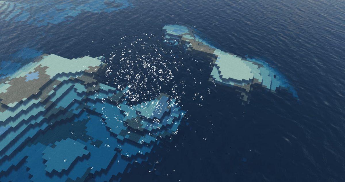 projectLUMA Shader : Dans l'océan