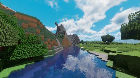 shader minecraft rivière