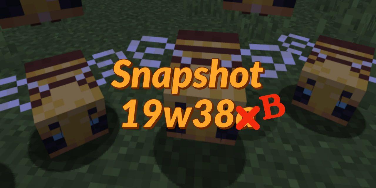 Minecraft 1.15 : Snapshot 19w38b – Bugs et système de rendu