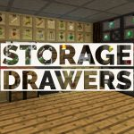 [Mod] Storage Drawers – 1.7.10 → 1.15.2
