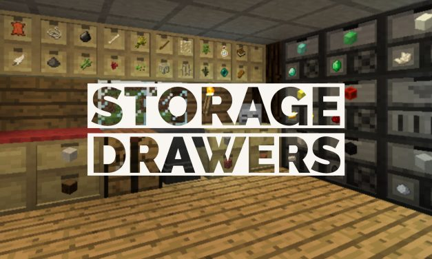 [Mod] Storage Drawers – 1.7.10 → 1.14.4