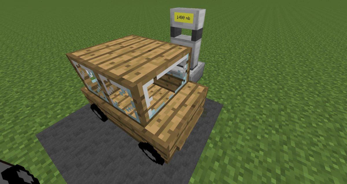 Mod Minecraft Ultimate Car Voiture Véhicule en bois