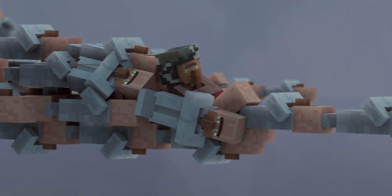 Vidéo Animation : Guerre de villageois