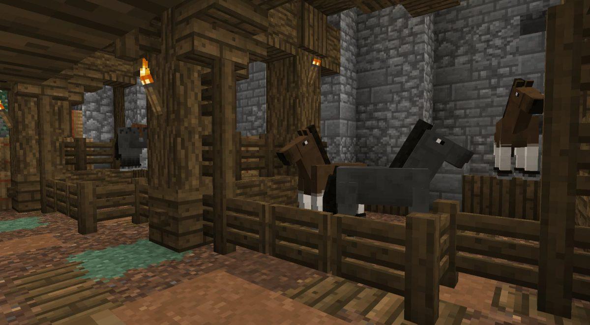 A Little Taste of Jerm : Une écurie avec des chevaux