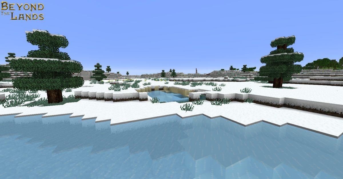 Pack de Textures Beyond The Lands : Le biome de neige