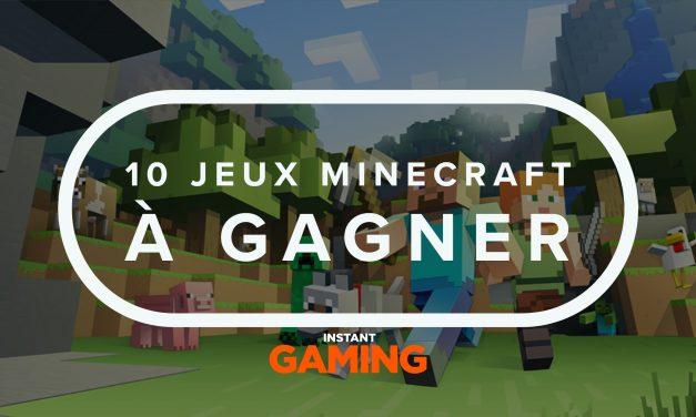 [Terminé] Concours : 10 jeux Minecraft à gagner