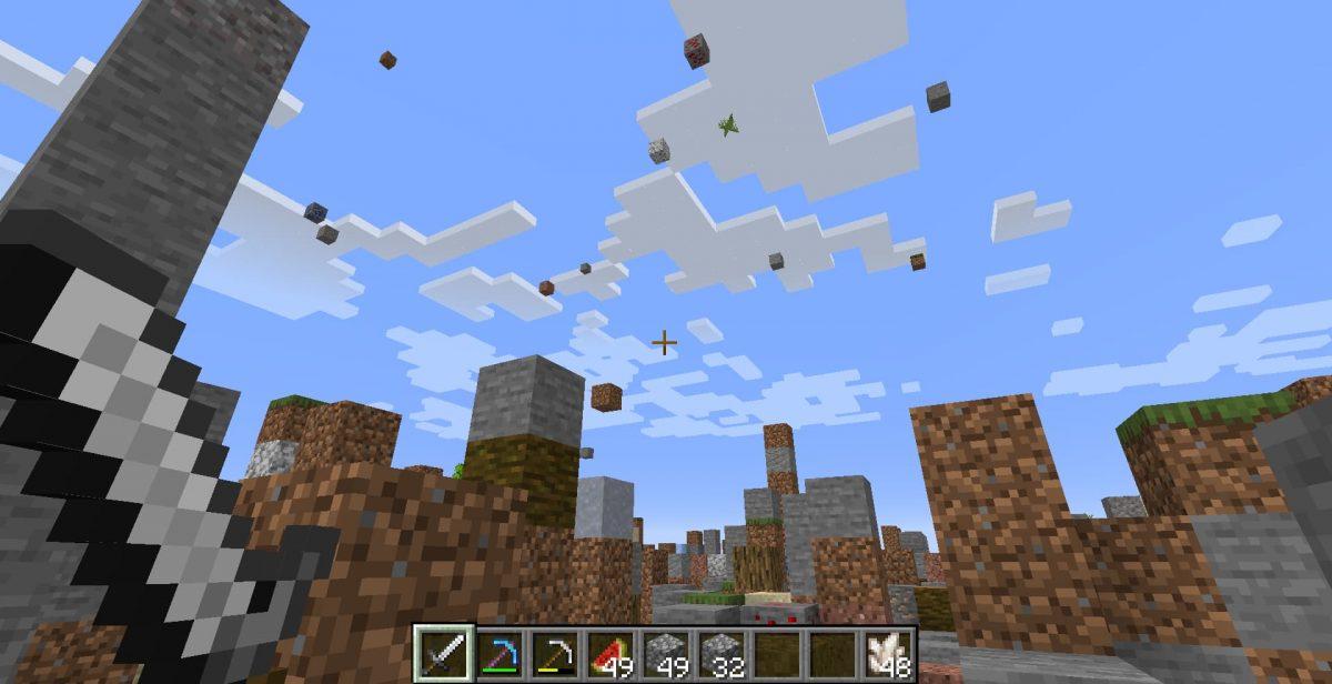 Falling Falling : Des blocs tombant du ciel !