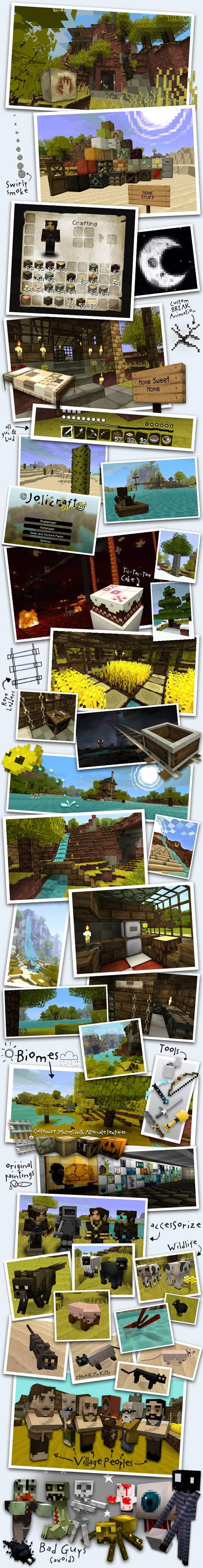 Illustrations jolicraft Minecraft