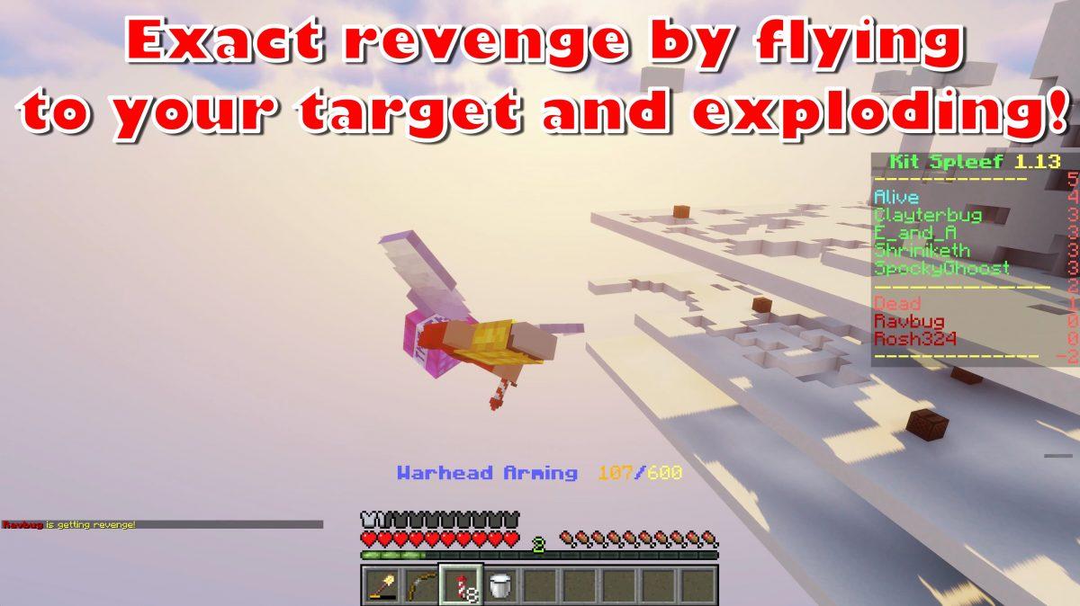 Vengez-vous de votre adversaire en volant.