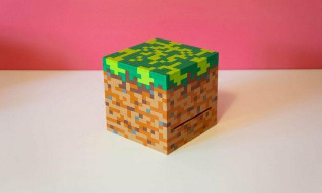 Un boitier de PC Minecraft réalisé en LEGO