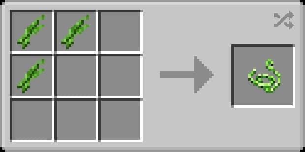 Recette ficelle végétale
