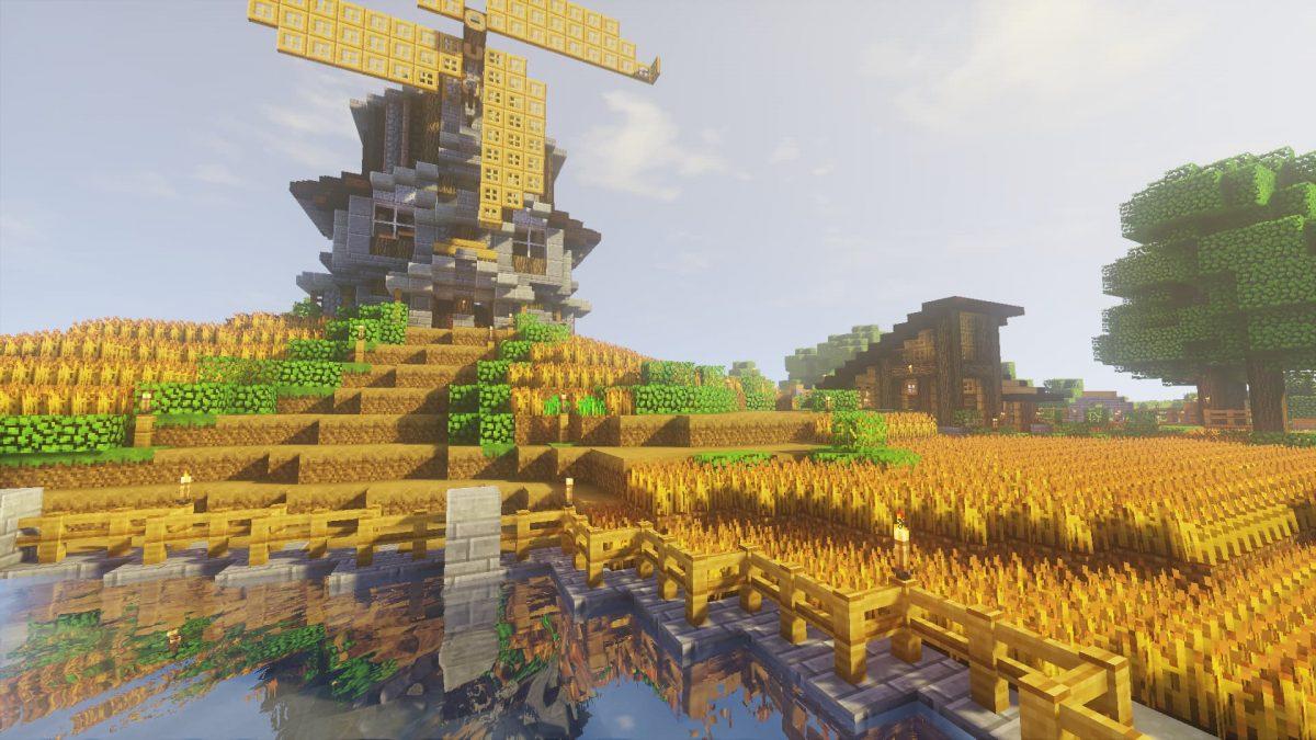 SenseCraft : Un moulin