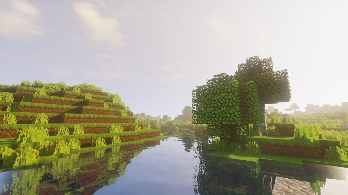 SenseCraft : Une rivière