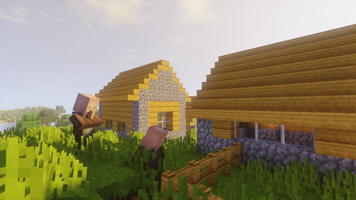 SenseCraft : Un village