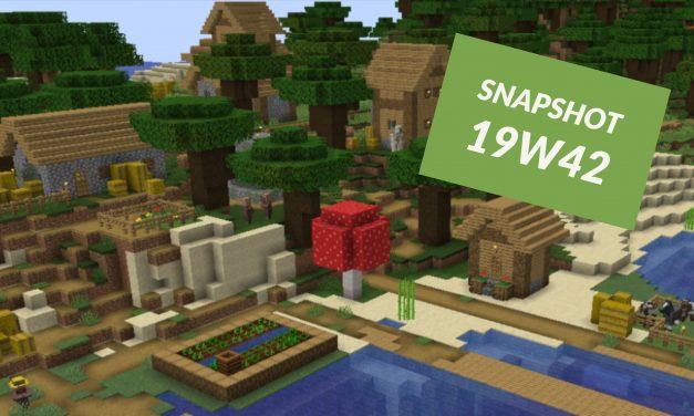 Minecraft 1.15 : Snapshot 19w42a : Friction blocs de miel et slime