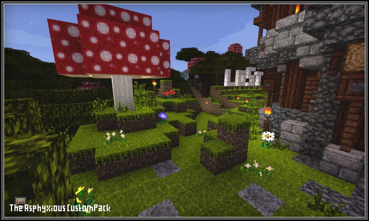 : Un arbre champignon