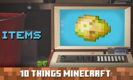 10 choses que vous ignoriez probablement sur les objets dans Minecraft