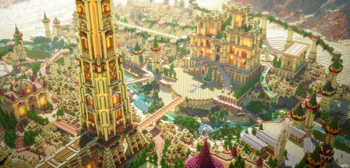 Ankharak - À la poursuite de Seth : une autre vue de la ville