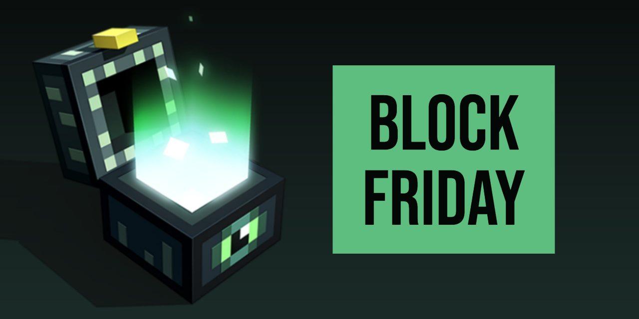 Block Friday : Le Black Friday sur le marketplace de Minecraft