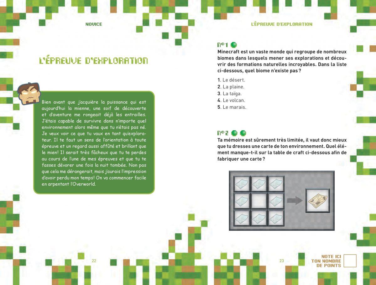 L'héritage de Herobrine - Livre Enigme / Aventure Minecraft 4