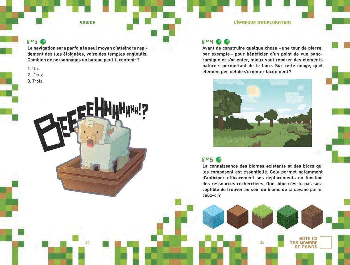L'héritage de Herobrine - Livre Enigme / Aventure Minecraft 5