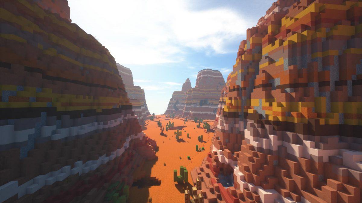 Villager's Valley : le canyon