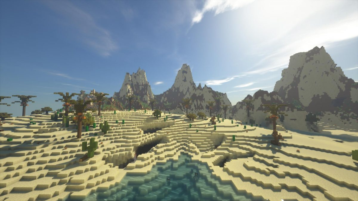 Villager's Valley : le desert