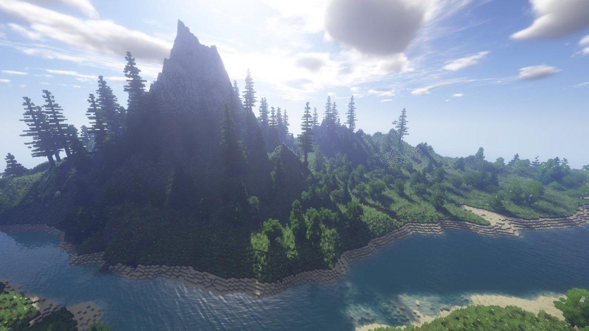 Villager's Valley : une belle vue sur la montagne et la rivière