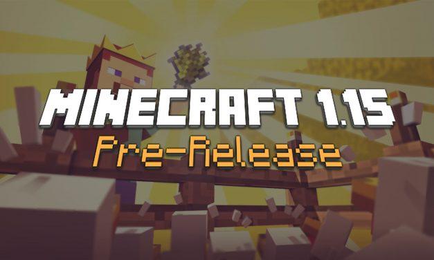Minecraft 1.15 : Pre-Release