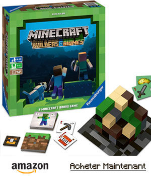 amazon minecraft builders & biomes