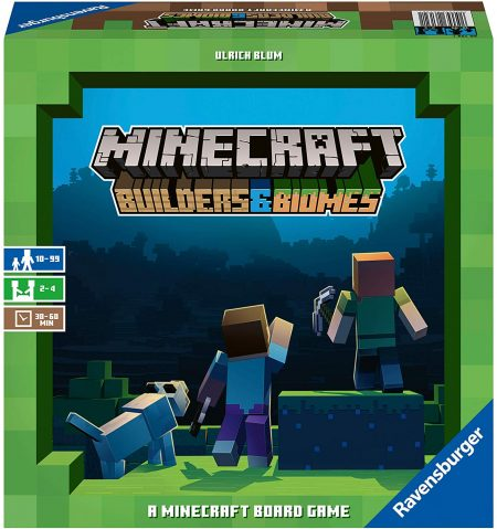 boite Minecraft Builders & Biomes
