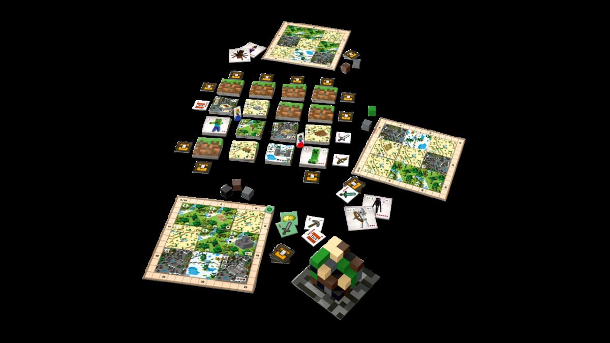 Plateau de jeu Minecraft Builders & Biomes