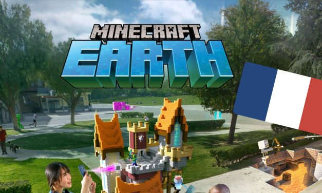 Minecraft Earth : disponible en France en Accès Anticipé