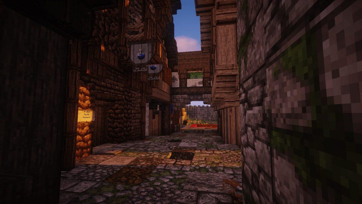 The Realm of Midgard : une avenue à Port Bloodsand