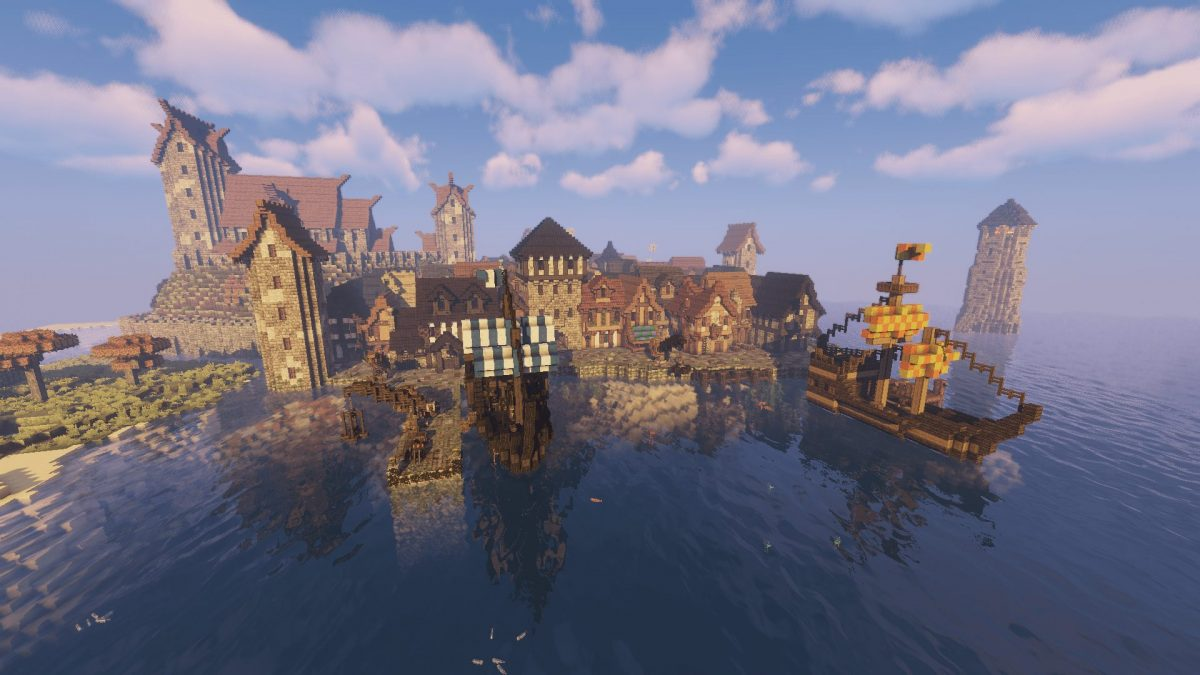 The Realm of Midgard : les dock de Port Bloodsand