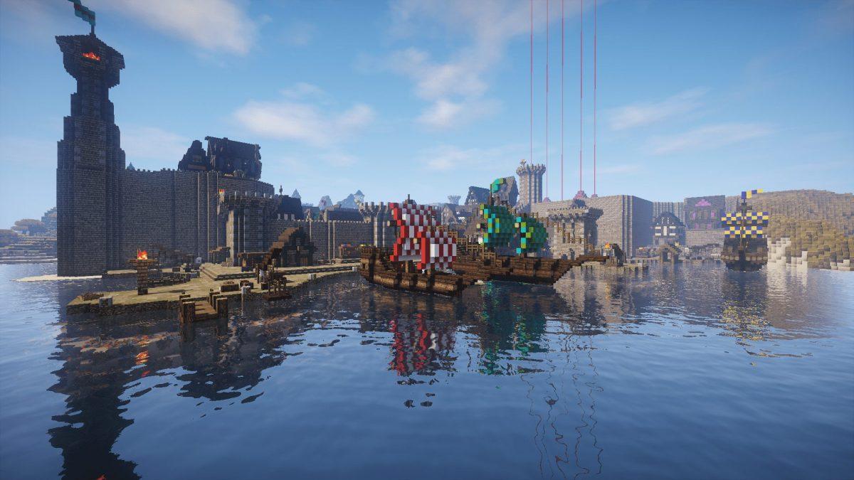 The Realm of Midgard : le port de Seven Hills