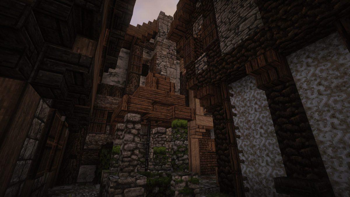 The Realm of Midgard : rues de Port Bloodsand