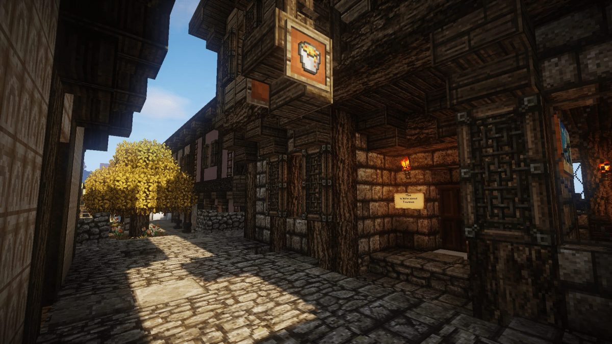 The Realm of Midgard : une taverne