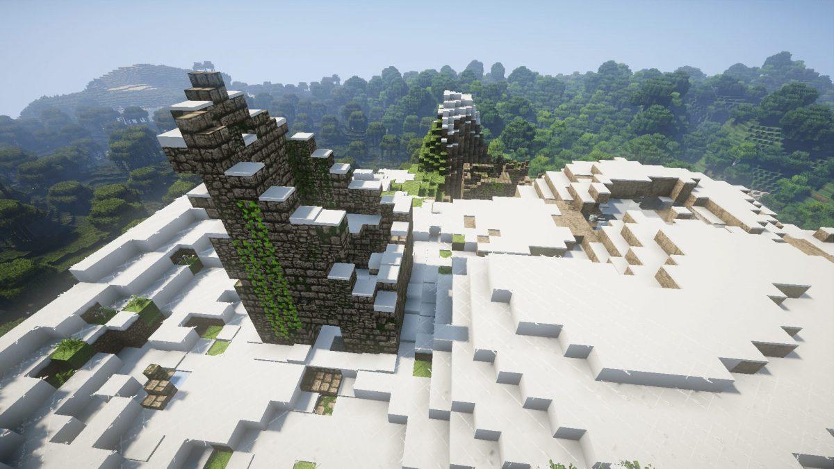 The Realm of Midgard : des tours en ruines