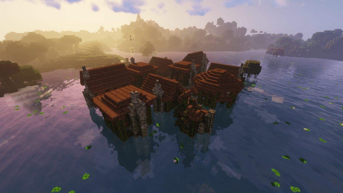 The Realm of Midgard : le village dans les marais des Wranna